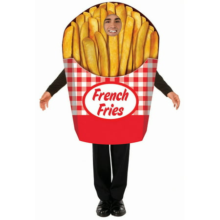 Halloween French Fries Adult Costume