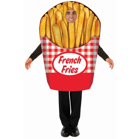 Bichon Frise Halloween Costumes (Halloween French Fries Adult)