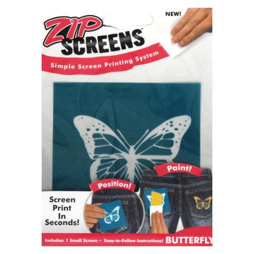 Zip Screen, Small Butterfly