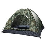 3-4 People Outdoor Sports Camping Tent Camouflage Sports Tent with  One-Door for Camping Supplies