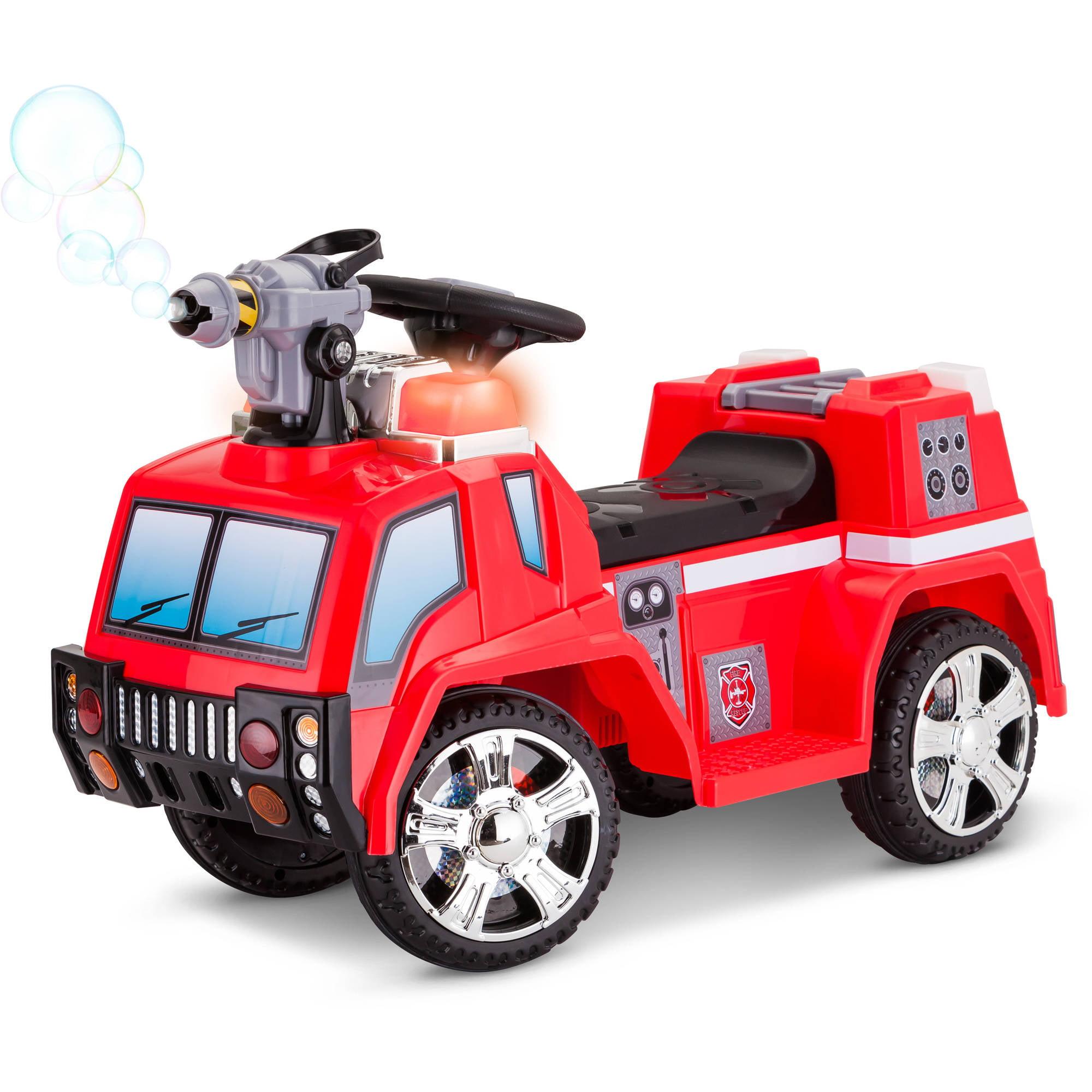 Kid Trax 6V Fire Rescue Quad Ride-On