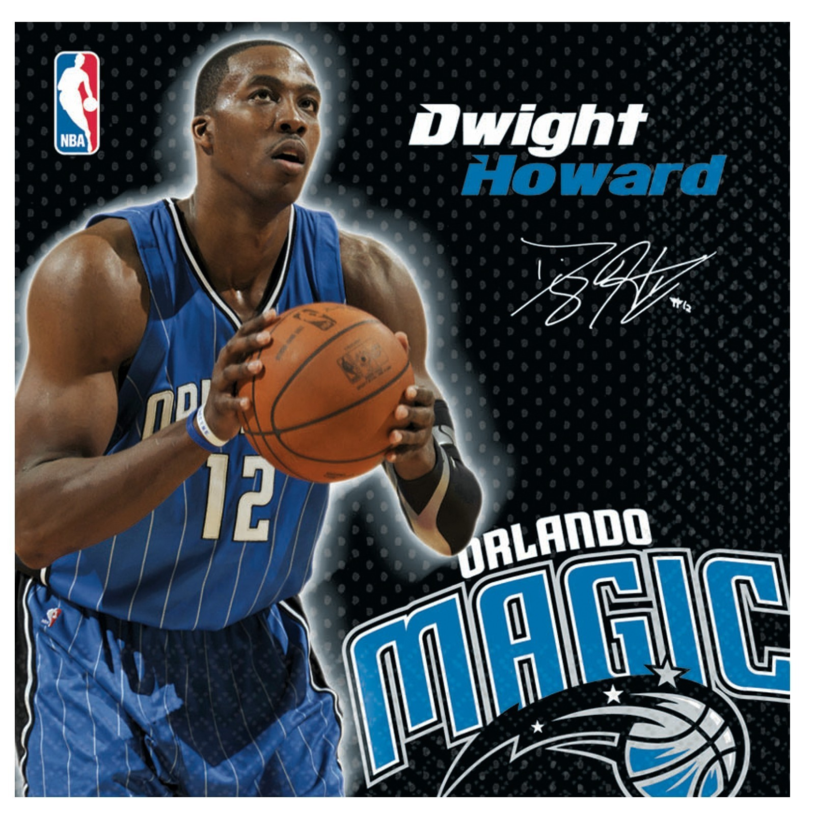 NBA Dwight Howard Orlando Magic Lunch Napkins (16ct)