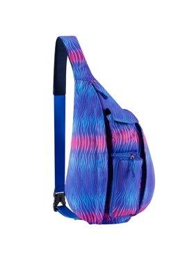 Sling Backpack- Rope Bag Crossbody Backpack Travel Multipurpose Unisex Daypack