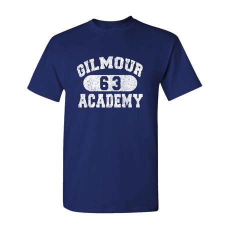 GILMOUR ACADEMY 63 - rock music 70's disco - Mens Cotton T-Shirt](60's Clothes Men)