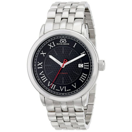 Men's 87WA120040 'Double 8' Automatic Stainless Steel Watch ()