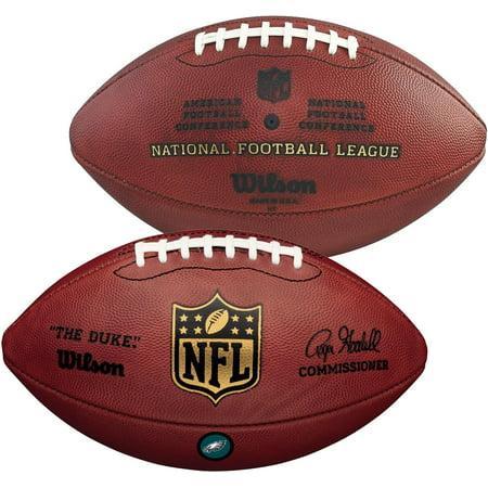 Wilson Philadelphia Eagles Official Duke Football with Team Decal