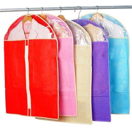 Garment Case (Mosunx 2015 Home Dress Clothes Garment Suit Cover Case Dustproof Storage Bags)
