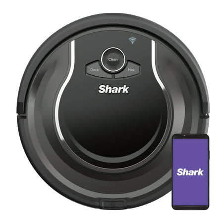 Shark ION™ Robot Vacuum, Wi Fi Connected, Works with Google Assistant, Multi Surface Cleaning, Carpets, Hard Floors (RV750)
