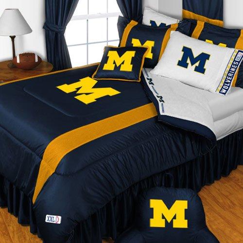 Michigan Wolverines King Size Bedding