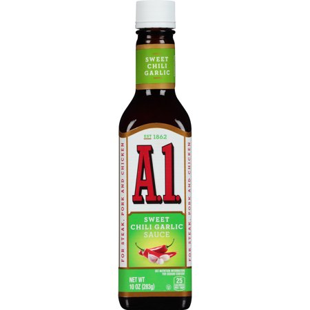 A.1. Sweet Chili Garlic Sauce, 10 oz Bottle