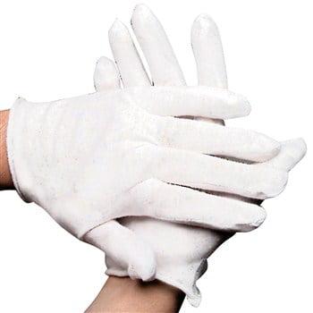 Teen Ladies Child White Sheer Economy Costume Gloves - Today Costumes
