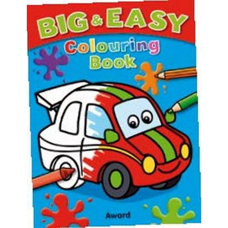 Big and Easy Colouring Book - Car : Big Pictures, Bold Outlines, Perfect for Children Just Start - Printable Halloween Coloring Pages Online