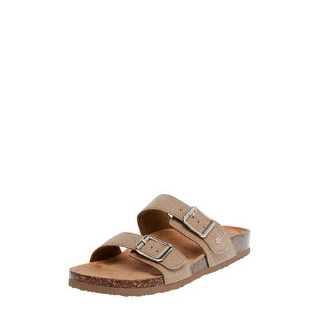 Footbed Sandal (Women Time And Tru Footbed Slide)