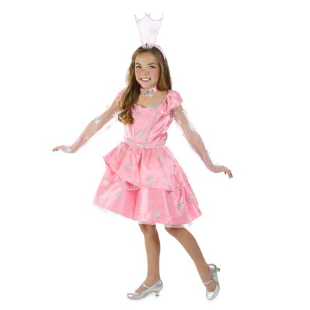 Sassy Girls The Wizard Of Oz Glinda - Girls Wizard Of Oz Costume