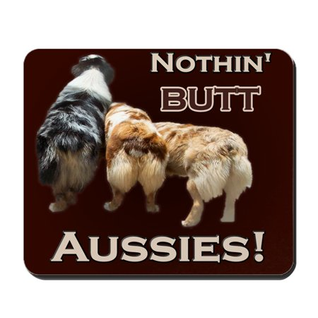 CafePress - Aussie - Non-slip Rubber Mousepad, Gaming Mouse Pad