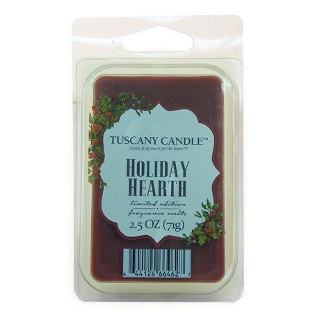 - Tuscany Candle Holiday Hearth Scented Tart Bar Wax Melts 2.5 Oz