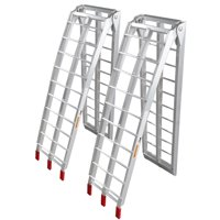 """Zimtown Pair Of Motorcycle ATV Folding Loading Ramps 89"""" 1500lb Rated"""