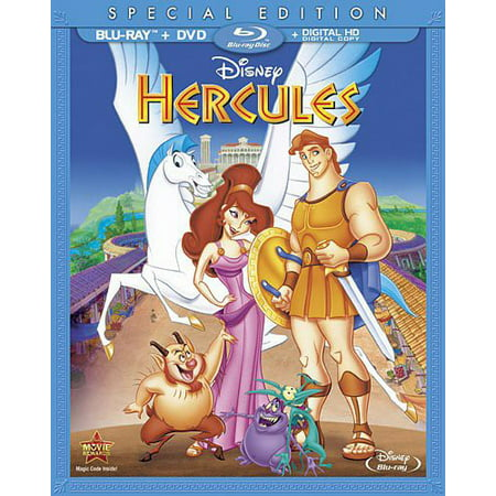 Hercules (Special Edition) (Blu-ray + DVD + Digital