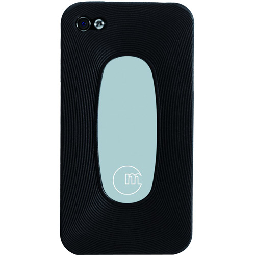 MacAlly Silicon Sleeve for iPhone 4, Black