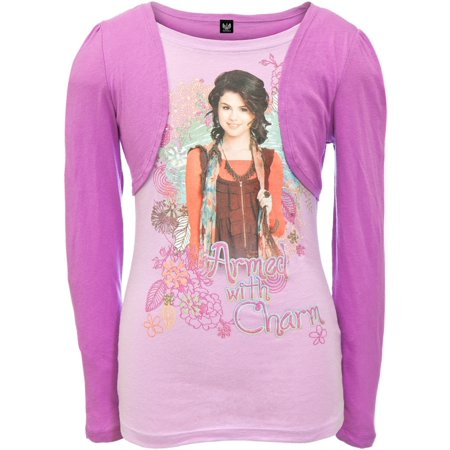 Wizards Of Waverly Place - Charm Girls Youth 2fer Long Sleeve
