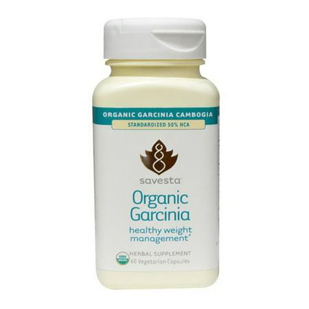 organique Garcinia saine gestion du poids capsules végétariennes 60 Ea