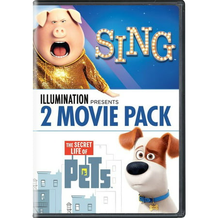Illumination Presents: 2-Movie Pack (Sing / The Secret Life of Pets) (DVD) (The Movie Life)