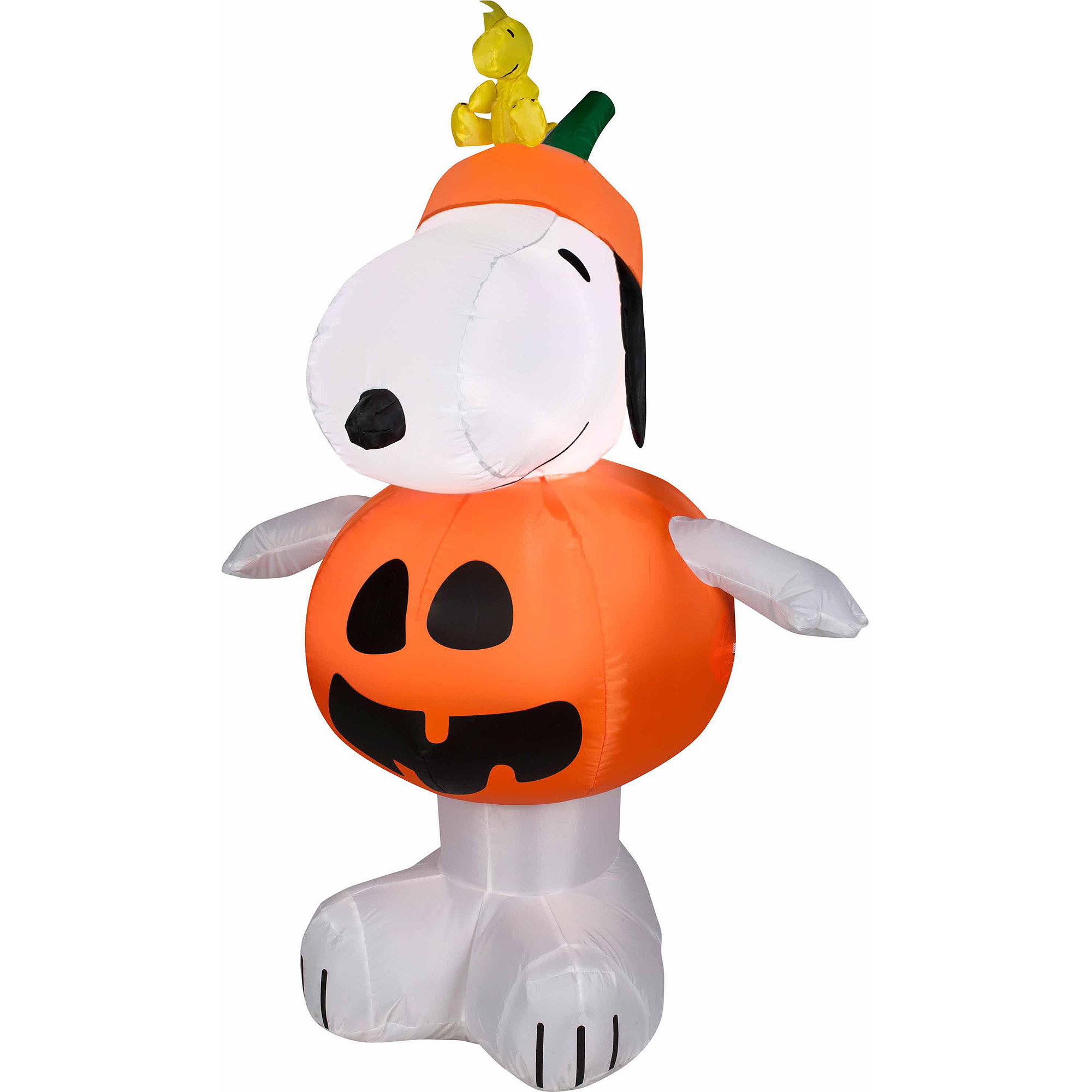 4 airblown snoopy pumpkin walmartcom