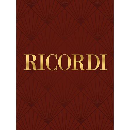 Ricordi Sonata in C Minor for Violin and Basso Continuo RV5 Study Score by Vivaldi Edited by