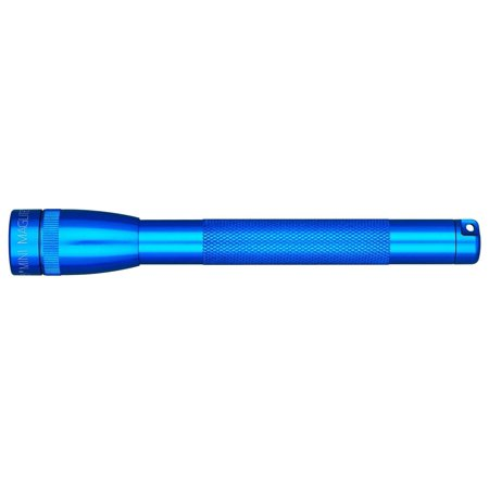 Mini Incandescent 2-Cell AAA Flashlight, Blue, Superior quality craftsmanship with weather-resistant seal, diamond knurl design, and anodized inside and out for improved.., By MagLite ()