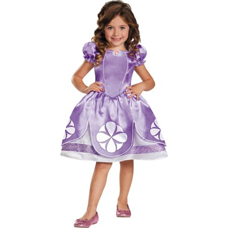 Morris Costumes Sofia The First Toddler 3T-4T - Sofia The First Toddler Costume