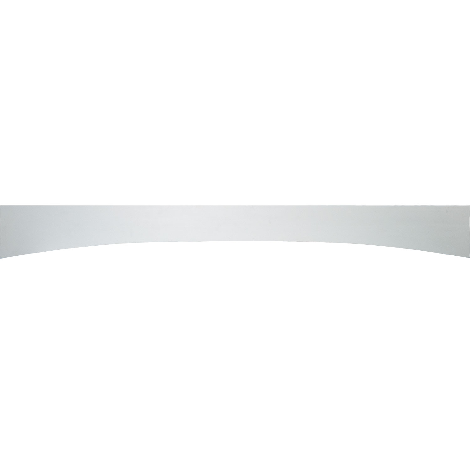 Everyday Cabinets 60-inch White Shaker Arched Valance