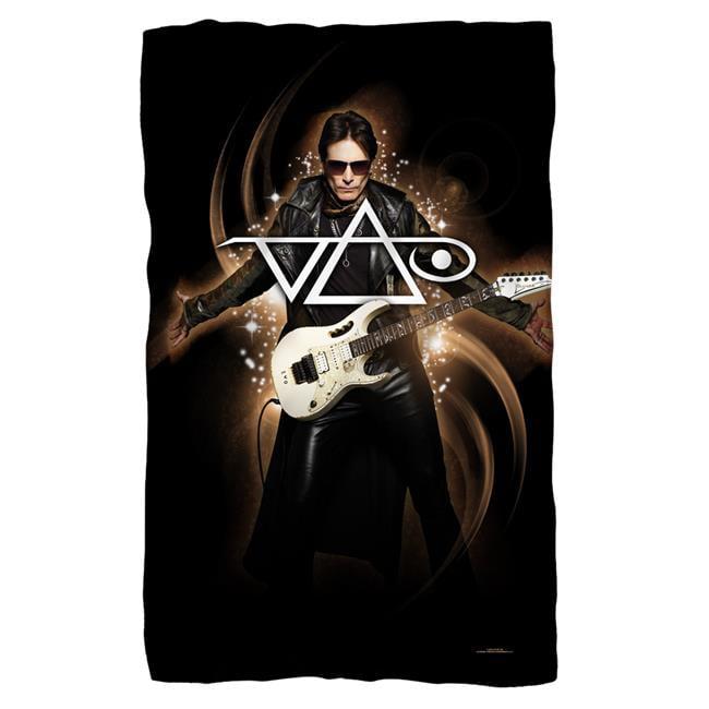 Trevco BAND171-BKT1-36x58 Steve Vai & Ethereal-Fleece Blanket, White - 36 x 58 in.
