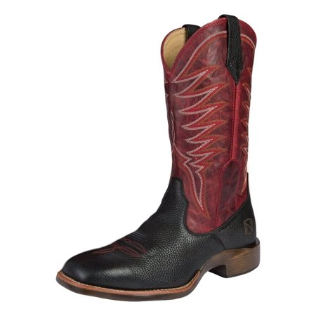 Noble Outfitters Boots Mens All Around Rugged Square Toe Black