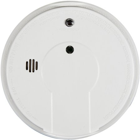 Kidde FireX Photoelectic Smoke Detectors Hardwired 120-Volt Inter Connectable Smoke Alarm with Battery Backup 21006371