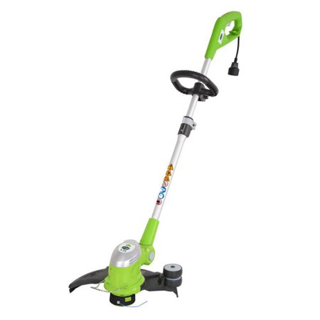 Greenworks 5.5 Amp 15 in. Corded Electric String Trimmer, 21272