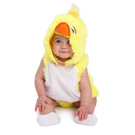 Baby Halloween Coustumes (Dress up America Baby Duck Halloween Costume Infants Yellow Duck)