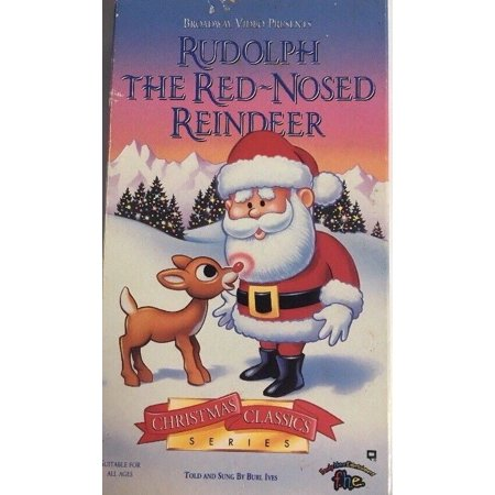 Burl Ives Christmas.Rudolph The Red Nosed Reindeer Vhs 1993 Christmas Classics Told By Burl Ives