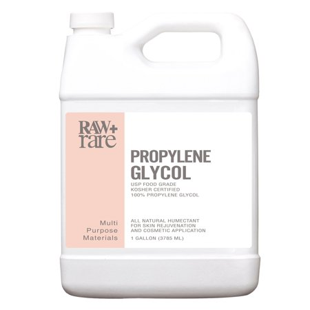 Propylene Glycol (32 oz) Food Grade 100% Pure USP Solution, Kosher, Humidor, Humectant, Fog Machine & Antifreeze by Raw Plus Rare