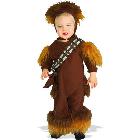 Star Wars Chewbacca Fleece Infant / Toddler Costume - Toddler (2-4) (Chewbacca Costume Rental)