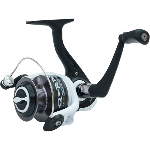 Quantum Q-Ray Spinning Reel, Size 40, 5+1 Ball Bearing, 4.7:1, 8 lbs/270 yds
