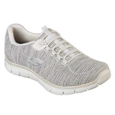 - skechers relaxed fit empire dream world womens slip on sneakers natural
