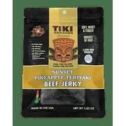 Tiki Hawaiian Gourmet Jerky - Beef Jerky (Sunset Pineapple Teriyaki Flavor)