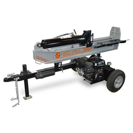 Dirty Hand Tools 35 Ton Horizontal/Vertical Log Splitter, Kohler Engine