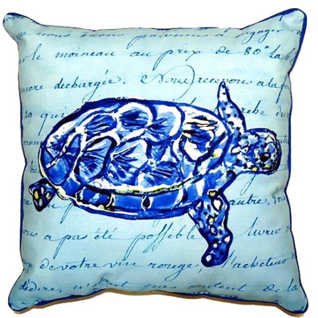 Betsy Drake SN061 Betsys Manatee Pillow 12 x12
