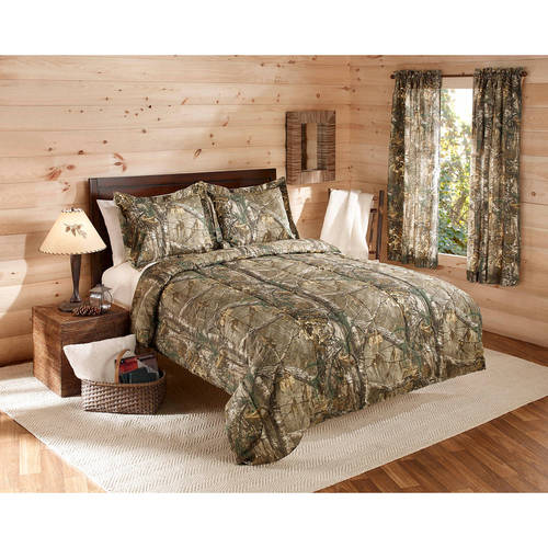 Mainstays Real Tree Xtra Comforter Set King Camo
