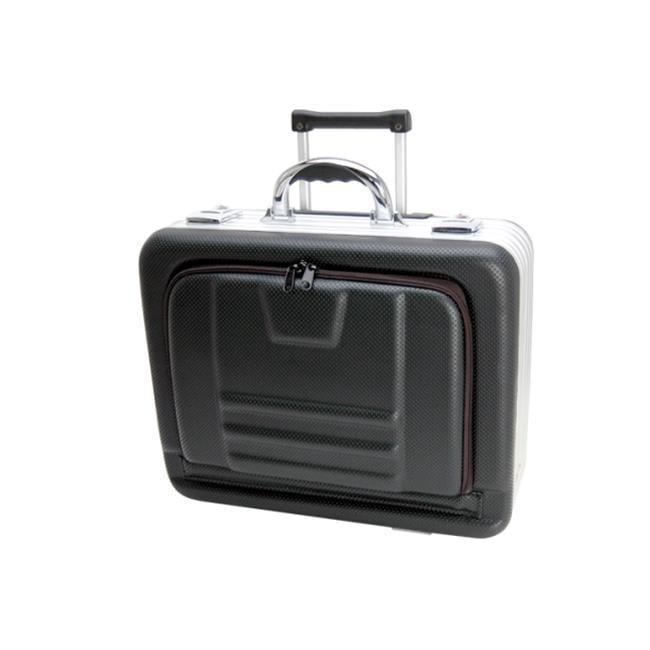 TZ Case MAF-518 BH Wheeled Laptop Organizer Case, Black Hole