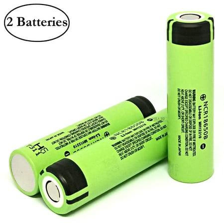 Panasonic NCR18650B 3400mAh 4.87A Rechargeable High Drain Flat Top 18650 Battery (2