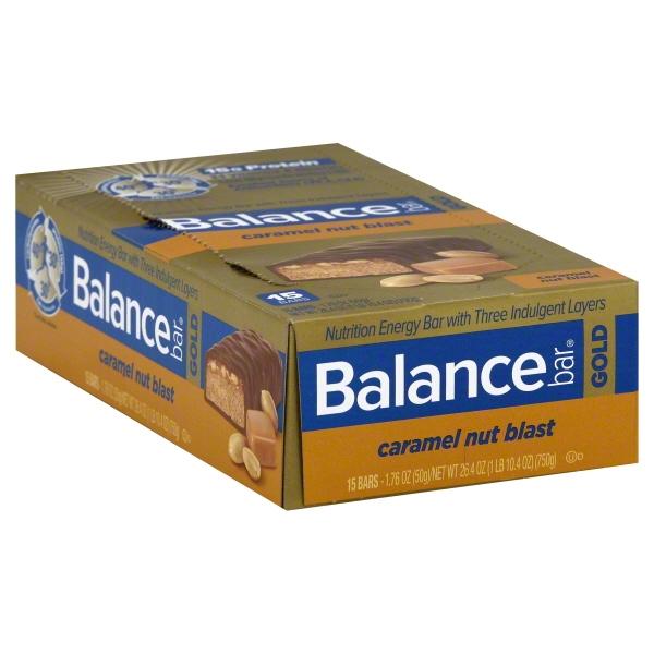 US Nutrition Balance Bar Gold Nutrition Energy Bars, 15 ea