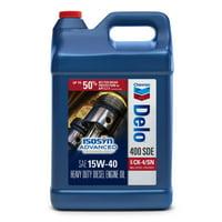 Chevron Delo 400 SDE 15W40 CK-4, 2.5 Gallon Jug