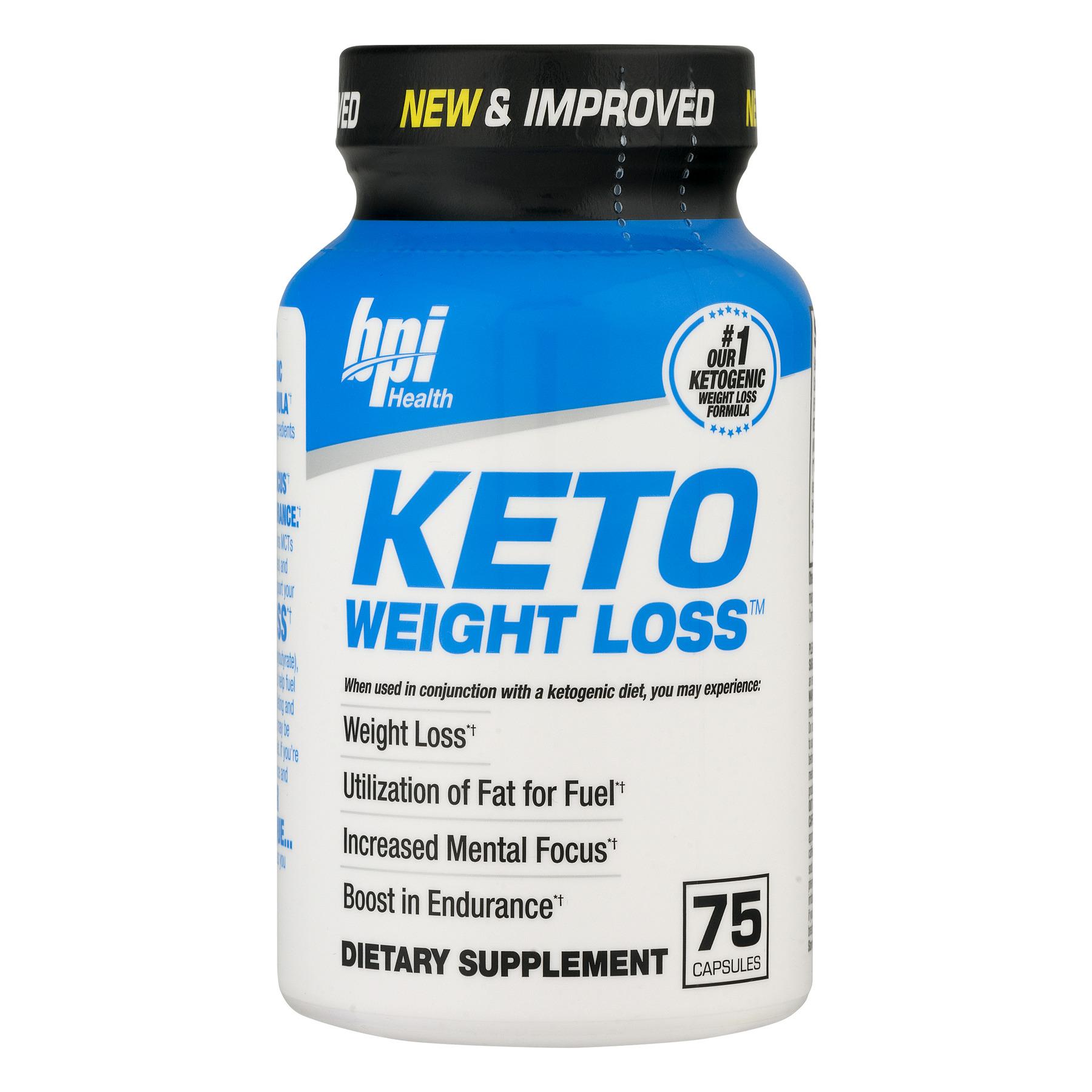 bpi Health Keto Weight Loss, 75.0 CT